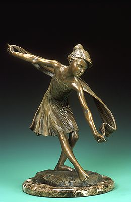 Spring Dance by Karl Jensen (maquette)