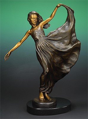 Freedom by Karl Jensen (maquette)