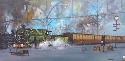 Padington Train Station by Cavan Corrigan