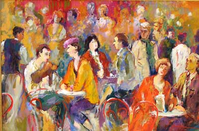 Cafe Tapestry by Janine Wesselmann