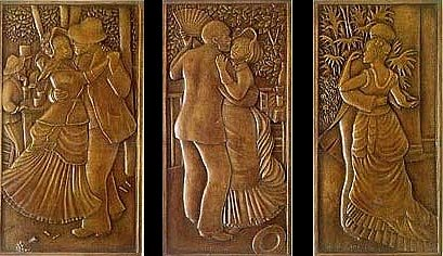 The Dance Trilogy by Pierre R. Renoir (bronze)