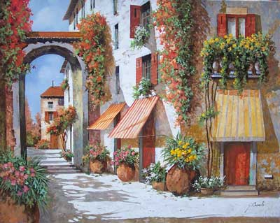 Tende a Strisce by Guido Borelli
