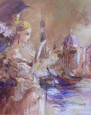 Duo Romantique Venice by Michel Guyon