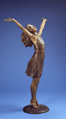 Rejoicing by Karl Jensen (maquette)