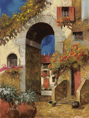 Arco al Burio by Guido Borelli