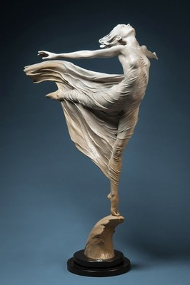 Ascending by Karl Jensen (maquette)