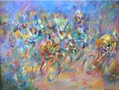 Tour de France by Janine Wesselmann